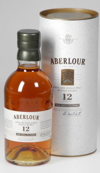 Aberlour 12 years unchillfiltered matured single Malt Whisky
