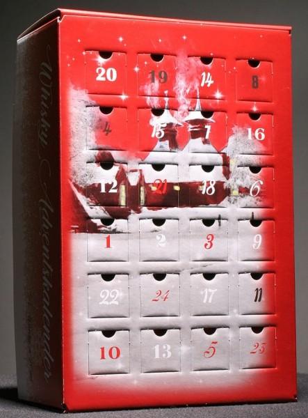Whisky Adventskalender Wintermotiv (24 Whisky Minis)