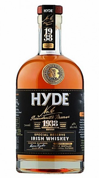 Hyde No 6 Single Malt Special Reserve Sherry Cask limited Irish Whisky