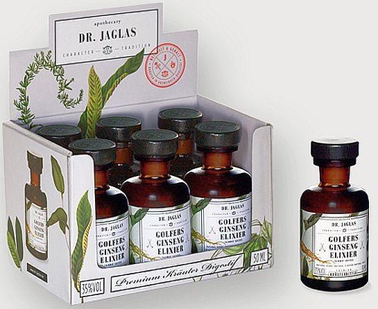"""Dr. Jaglas Mini """"Artischocken Elixier"""" Digestif, je Flasche 50cll"""