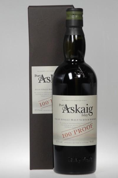 Port Askaig 100 proof cask strength Islay Single Malt Whisky