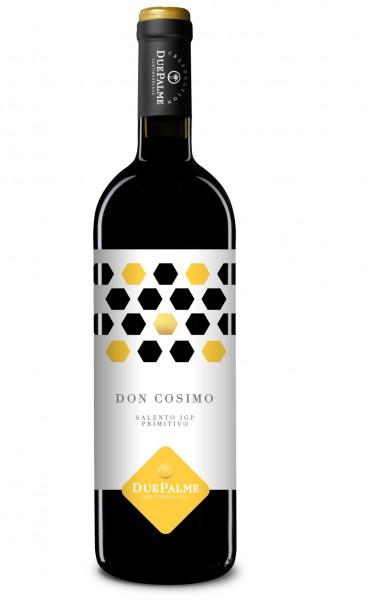 2019er Due Palme Primitivo Salento Don Cosimo rosso