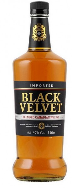 Black Velvet Blended Canadian Whisky LITER