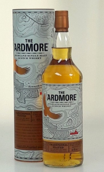 Ardmore LITER 46% Traditional cask peated Whisky unchillfiltered Single Malt