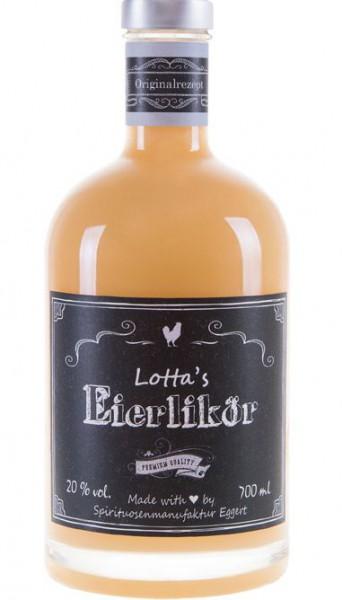 Lottas Eierlikör aus der Lüneburger Heide