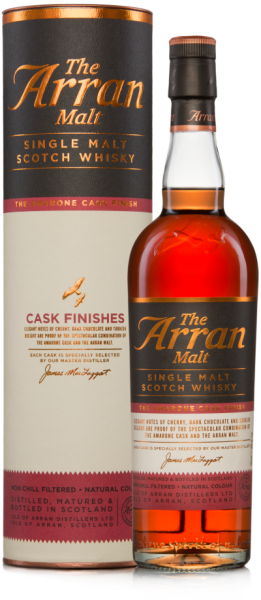 Arran Amarone Finish Whisky unchillfiltered