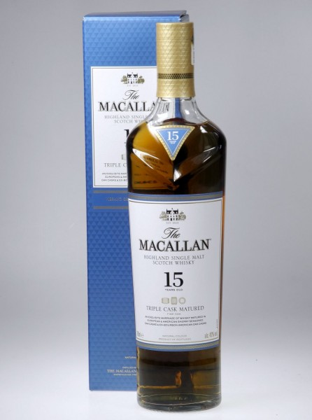 Macallan Triple Wood 15 years Single Malt Highland Whisky