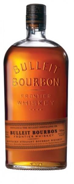 Bulleit Bourbon Frontier Whiskey - orange label