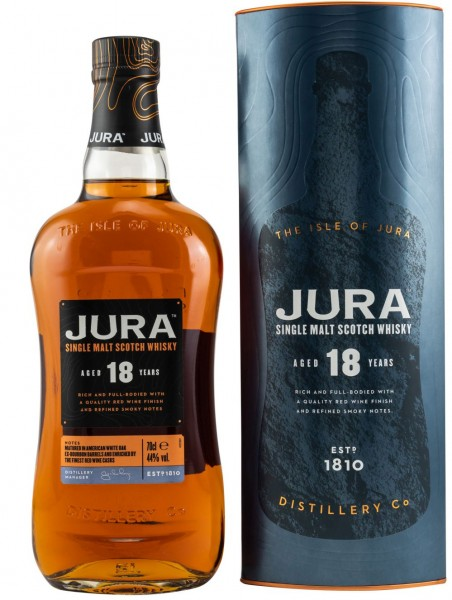 Isle of Jura 18 years Single Malt Whisky