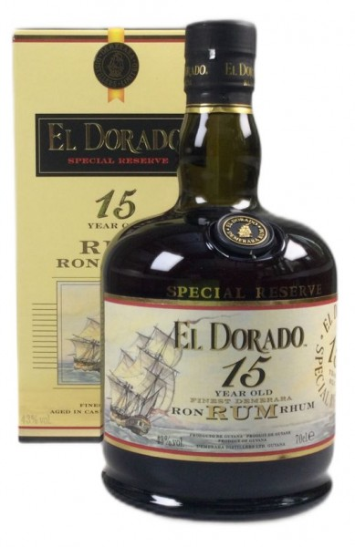 El Dorado 15 years Guyana Rum