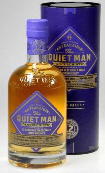 The Quiet Man 12 years Single Malt Irish Whiskey