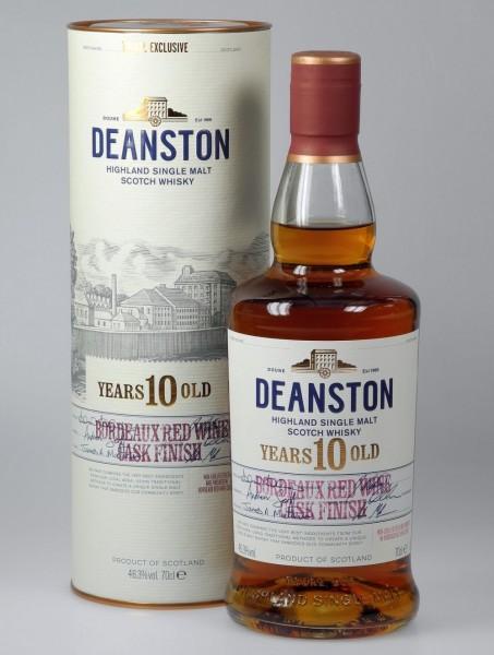 Deanston Bordeaux Cask finish Single Malt 10 years