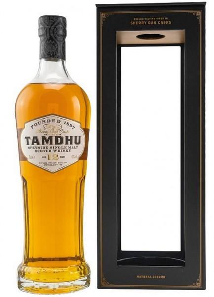 Tamdhu 12 Sherry cask Speyside Single Malt Whisky