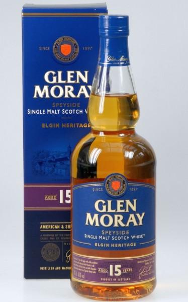 Glen Moray 15 years Single Malt