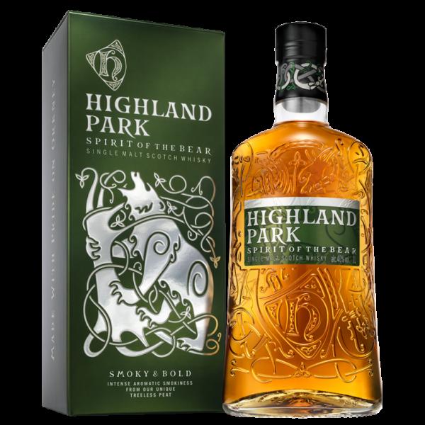 Highland Spirit of the Bear LITER Single Malt Orkney Island Whisky