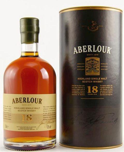 Aberlour 18 years double matured single Malt Whisky