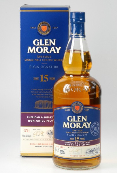 Glen Moray LITER 48% 15 years Single Malt