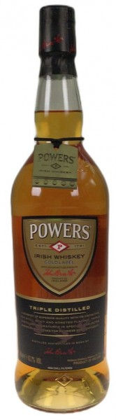 Powers Irish Whiskey triple distilled Hand crafted