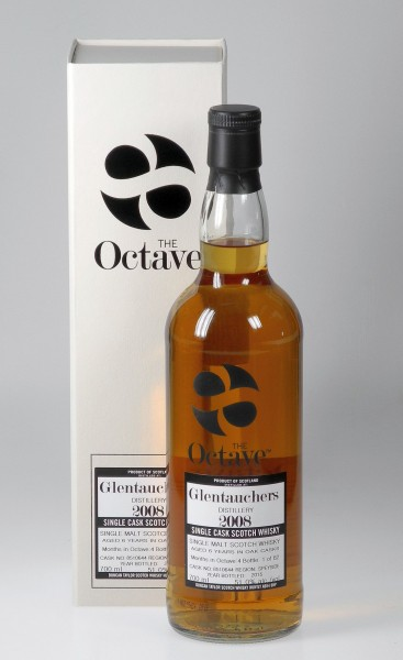 Glentauchers 6 years Octave cask Duncan Taylor 4 months Sherry Cask