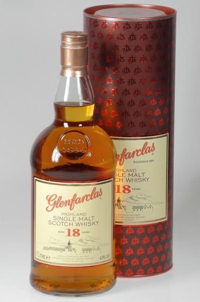 Glenfarclas 18 years LITER Single Malt Whisky