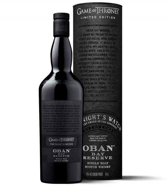Oban Single Malt Games of Thrones Whisky