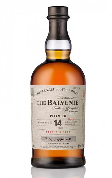 Balvenie 14 years roasted Malt Peat Week 2003 single Malt Whisky