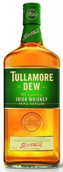 Tullamore Irish Whiskey triple distilled