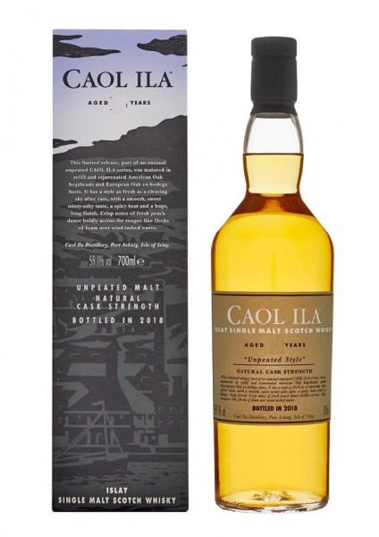 Caol Ila unpeated 17 years 2015 Islay Single Malt Whisky