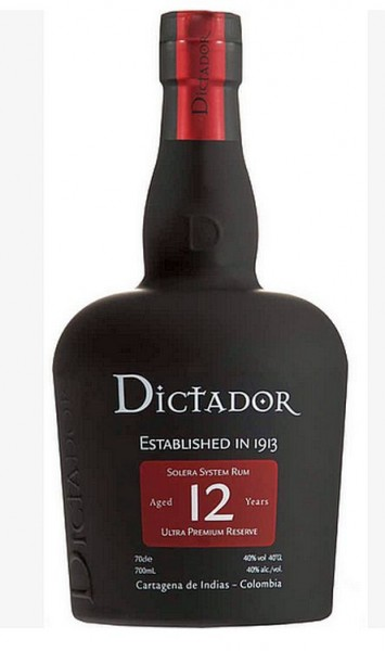 Dictador Solera Rum 12 Jahre Kolumbien