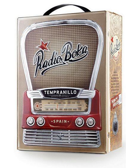 Radio Boca Tinto 3 Liter BOX