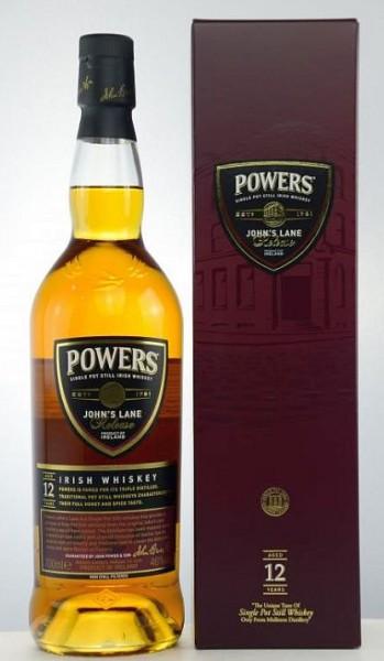 Powers Johns Lane 12 years Irish Whiskey triple distilled