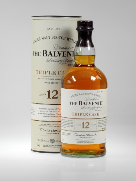 Balvenie TRIPLE CASK Liter 12 years Single Malt Whisky