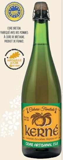 Kerné Cidre Fruité, CRU ARTISANALE Breton - braun