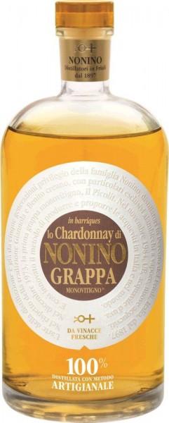 Nonino Chardonnay Grappa barrique GePa