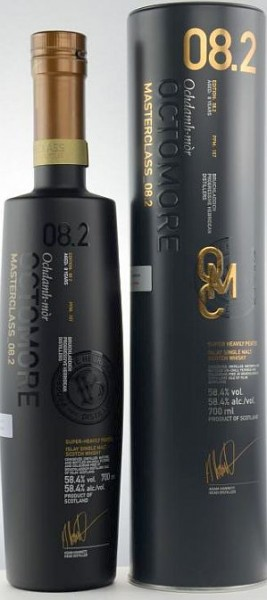 Bruichladdich Octomore 08.2 Masterclass Islay Single Malt Whisky