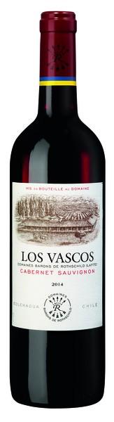 2017er MAGNUM Los Vascos Cabernet Sauvignon Chile