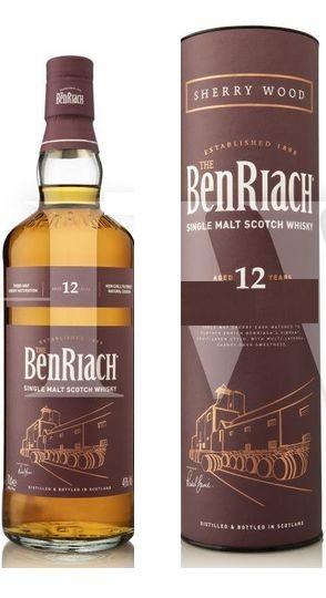 Benriach 12 years Sherry Speyside Single Malt Whisky