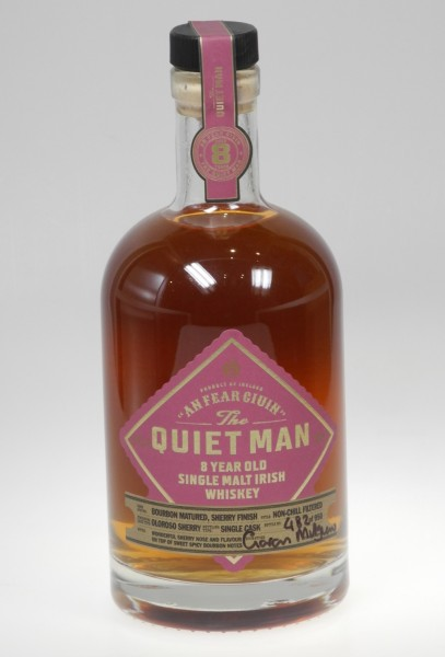 The Quiet Man 8 years OLOROSO CASK Single Malt Irish Whiskey