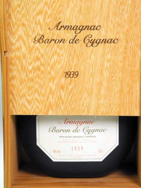 Baron de Cygnac 1939er Jahrgangsarmagnac