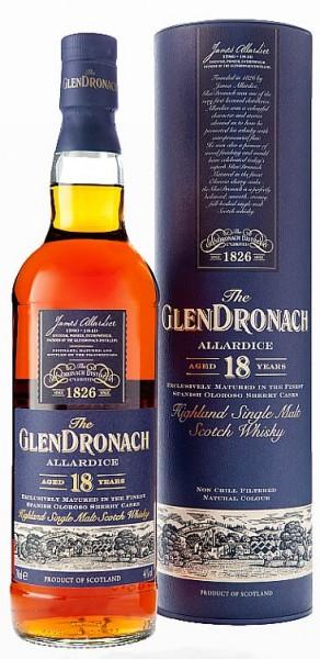 Glendronach Allardice Sherry cask 18 years single Malt