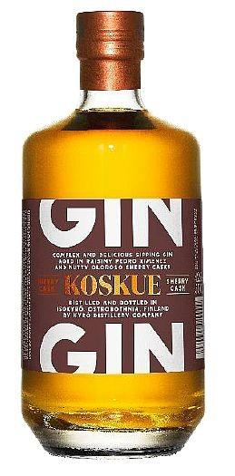 Kyrö Koskue SHERRY Cask aged Rye Gin
