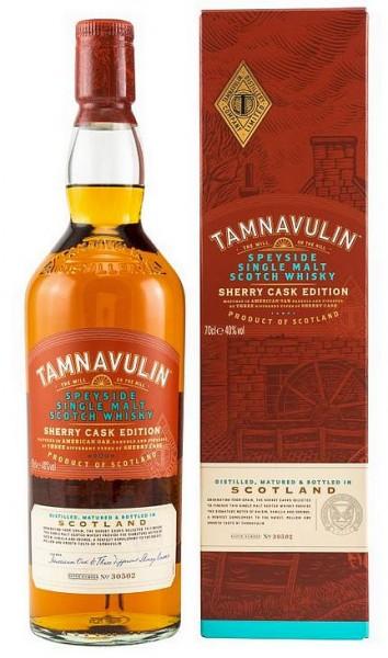 Tamnavulin Sherry Cask Speyside Single Malt Whisky