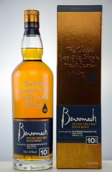 Benromach 10 years Speyside Single Malt Whisky
