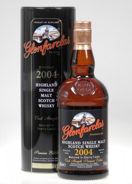 Glenfarclas 2004 Sherry cask strength Single Malt Whisky