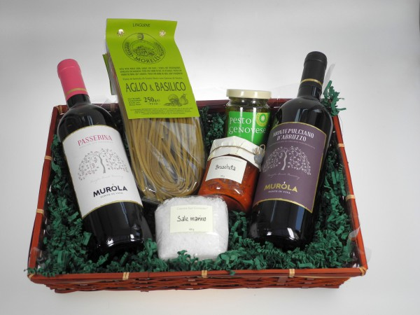 Italien Präsentkorb Wein & Feinkost