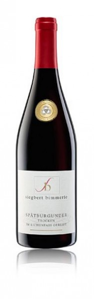 2015er Bimmerle Spätburgunder Rotwein im Holzfass gereift Goldm.