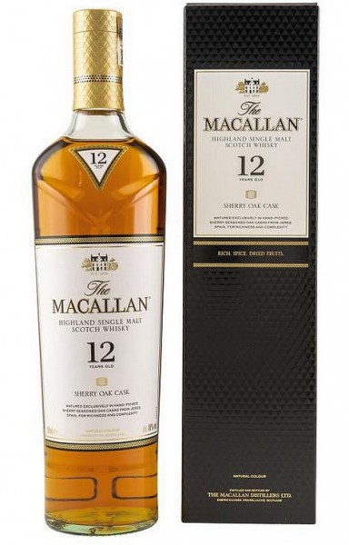 Macallan 12 years Sherry Cask Highland Whisky