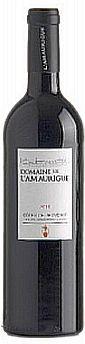 2018er Domaine de L Amaurigue Rouge Cotes de Provence Goldmed.