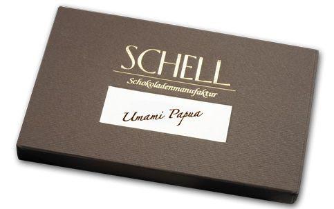 Schell Umami Papua 36 % Milch Schokolade