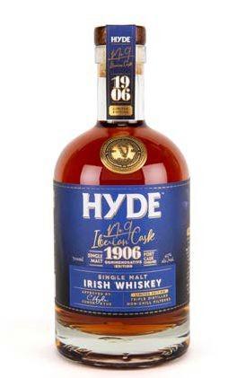 Hyde No 9 Single Malt PORT Cask limited Irish Whisky
